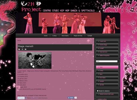Il sito web di 2H Project Scuola Ballo � stato realizzato da Futuro Internet s.r.l.