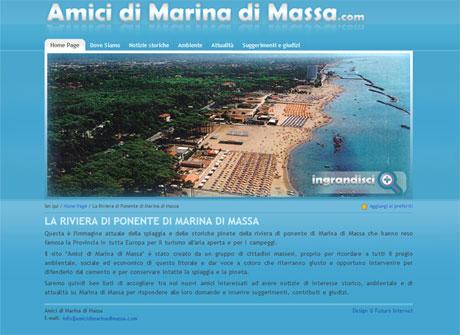 Il sito web di Amici di Marina di Massa � stato realizzato da Futuro Internet s.r.l.