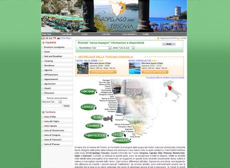 Il sito web di Arcipelago della Toscana � stato realizzato da Futuro Internet s.r.l.