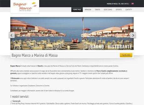 Il sito web di Bagno Marco � stato realizzato da Futuro Internet s.r.l.