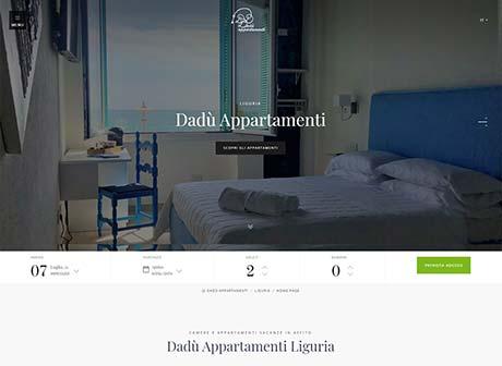 Il sito web di Dadù Appartamenti - Liguria � stato realizzato da Futuro Internet s.r.l.