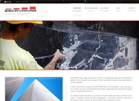 Il sito web di Escavamar s.r.l. � stato realizzato da Futuro Internet s.r.l.