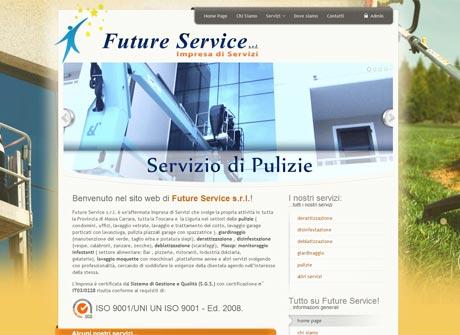 Il sito web di Future Service � stato realizzato da Futuro Internet s.r.l.