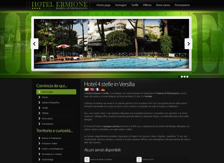 Il sito web di Hotel Ermione � stato realizzato da Futuro Internet s.r.l.