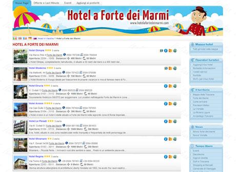 Il sito web di Hotel a Forte dei Marmi � stato realizzato da Futuro Internet s.r.l.