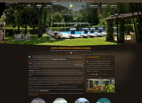 Il sito web di Hotel Hermitage � stato realizzato da Futuro Internet s.r.l.