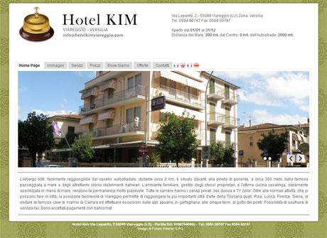 Il sito web di Hotel Kim � stato realizzato da Futuro Internet s.r.l.