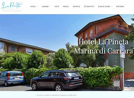 Il sito web di Hotel la Pineta � stato realizzato da Futuro Internet s.r.l.