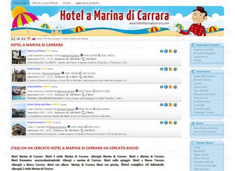 Il sito web di Hotel a Marina di Carrara � stato realizzato da Futuro Internet s.r.l.