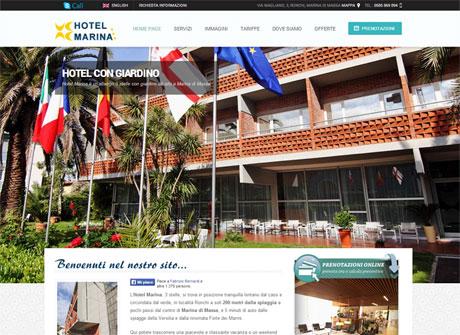 Il sito web di Hotel Marina � stato realizzato da Futuro Internet s.r.l.