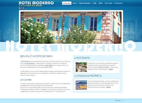 Il sito web di Hotel Moderno � stato realizzato da Futuro Internet s.r.l.