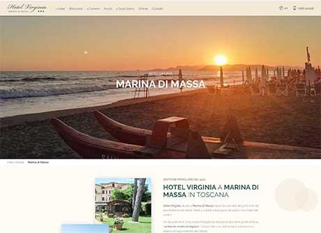 Il sito web di Hotel Virginia � stato realizzato da Futuro Internet s.r.l.