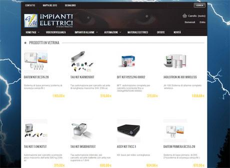 Il sito web di Impianti Elettrici GM - SHOP � stato realizzato da Futuro Internet s.r.l.