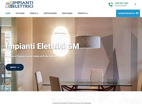 Il sito web di Impianti Elettrici GM � stato realizzato da Futuro Internet s.r.l.
