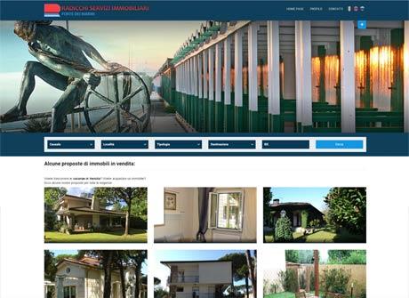 Il sito web di Radicchi Servizi Immobiliari � stato realizzato da Futuro Internet s.r.l.