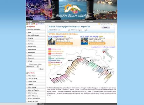 Il sito web di Riviera della Liguria � stato realizzato da Futuro Internet s.r.l.