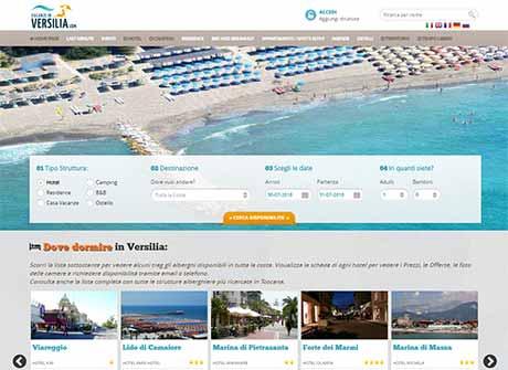 Il sito web di Vacanze in Versilia � stato realizzato da Futuro Internet s.r.l.