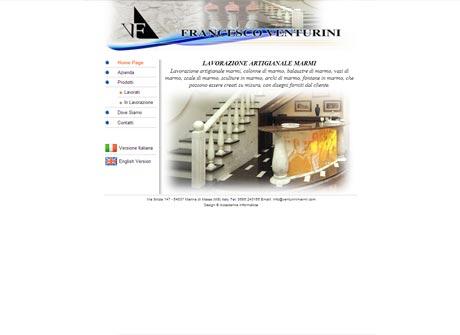 Il sito web di Venturini Marmi � stato realizzato da Futuro Internet s.r.l.