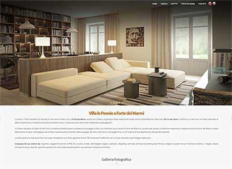 Il sito web di Villa le Peonie � stato realizzato da Futuro Internet s.r.l.